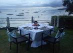 Restaurang Saffron - Amorita utsikt över stranden
