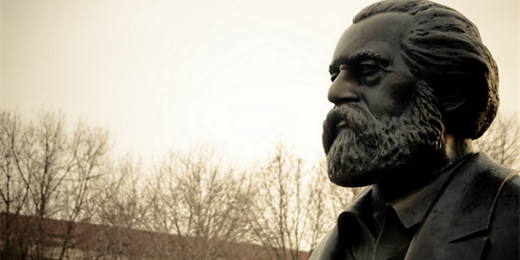 Karl Marx-staty (Foto: flickr/fhwrdh BY CC 2.0)