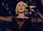 Sveriges Sanna Nielsen, Foto: Skärmdump SVT-Play