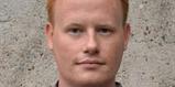 Stefan Lindborg, förbundsordförande Ung Vänster, Pressbild