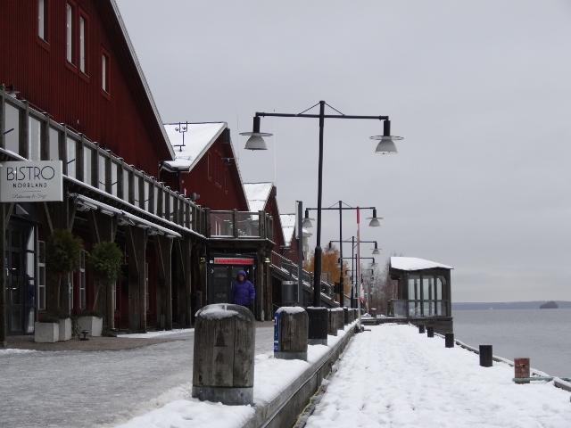 Kajen i norra hamnen